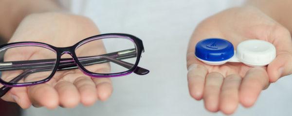 lentille et lunette de vue